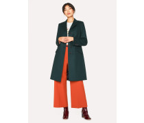 Forest Green Wool And Cashmere-Blend Epsom Coat