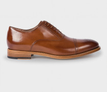 Tan Parma Calf Leather 'Berty' Brogues