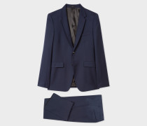 The Kensington - Slim-Fit Navy Wool Suit 'A Suit To Travel In'