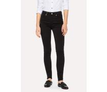 Black Skinny-Fit Jeans