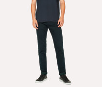 Slim-Standard Navy 11.8oz 'Super Soft Cross-Hatch' Jeans