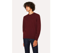 Burgundy Lambswool Sweater