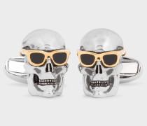 'Skull & Sunglasses' Cufflinks