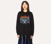 Black 'Dreamer' Embroidered Sweatshirt