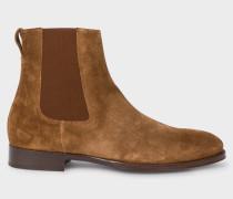 Brown Suede 'Joyce' Chelsea Boots