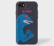 Black 'Dino' Motif Lenticular iPhone 7 Case