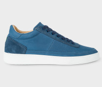 Blue Nubuck 'Dizon' Trainers
