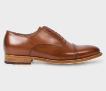 Tan Leather 'Bertie' Brogues