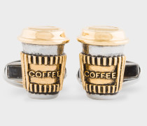 'Coffee Cup' Cufflinks