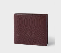 No.9 - Damson Leather Billfold Wallet