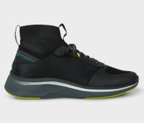 Black 'Zookie' Sock Trainers
