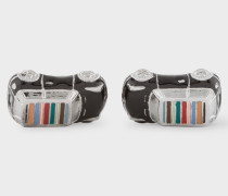 3D Signature Stripe Roof Mini-Car Cufflinks