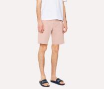 Pink Stretch-Cotton Shorts