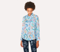 Light Blue 'Acapulco' Print Shirt