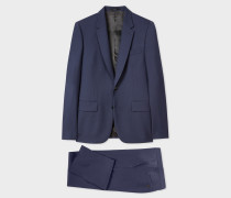 The Soho - Tailored-Fit Dark Blue Wool 'A Suit To Travel In'
