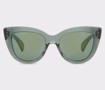 Crystal Green 'Lovell' Sunglasses