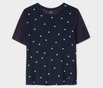 Navy Polka Dot Modal T-Shirt