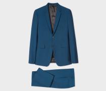 The Kensington - Slim-Fit Teal Wool-Mohair Suit