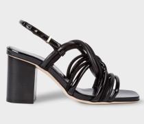 Black Suede 'Carla' Sandals