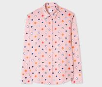Pink 'Scribble Spot' Shirt