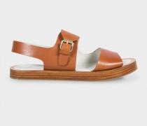 Tan Leather 'Ilse' Sandals