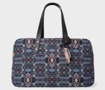 Black 'Mini Kaleidoscope' Print Weekend Bag