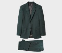 The Mayfair - Classic-Fit Forest Green Wool 'A Suit To Travel In'