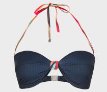 No.9 -  Navy Bandeau Bikini Top