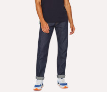 Tapered-Fit 12.5oz 'Rigid Western Twill' Indigo Denim Jeans