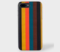 'Bright Stripe' Leather iPhone 7/8 Plus Case