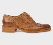 Tan Leather 'Arlo' Brogues