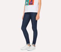 Skinny-Fit Indigo Denim Jeans