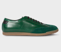 Green Leather 'Holzer' Trainers