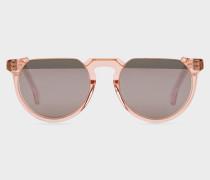 Peach Crystal 'Brixham' Sunglasses