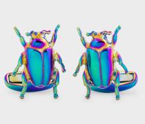 'Rainbow Beetle' Cufflinks