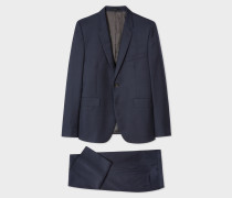 The Kensington - Slim-Fit Navy Pin-Dot Wool Suit