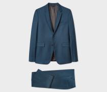 The Kensington - Slim-Fit Dark Petrol Wool-Cashmere Suit