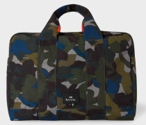 Camouflage Canvas Weekend Bag