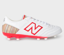 New Balance + - White MiUK-One Football Boots