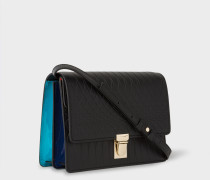 No.9 -  Black Leather Satchel