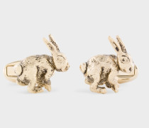 Gold Rabbit Cufflinks