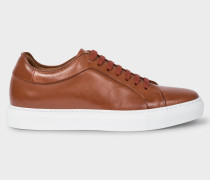 Tan Leather 'Basso' Trainers