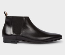 Black Calf Leather 'Marlowe' Chelsea Boots