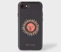 Black Sun Motif Lenticular iPhone 7 Case