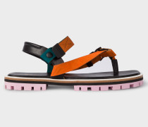 Orange 'Akela' Sandals