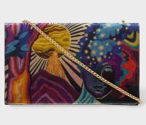 Velvet 'Dreamer' Clutch Bag