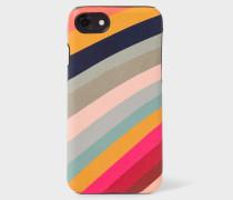 'Swirl' Print Leather iPhone 7 Case