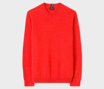 Red Lambswool Sweater
