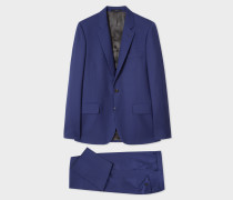 The Soho - Tailored-Fit Indigo Wool 'A Suit To Travel In'