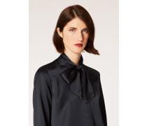 Black Satin Tuxedo Shirt